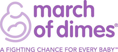 Logo for March of Dimes